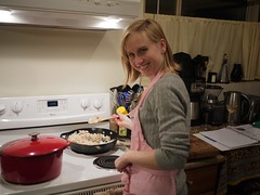 Heather Cooking Soup