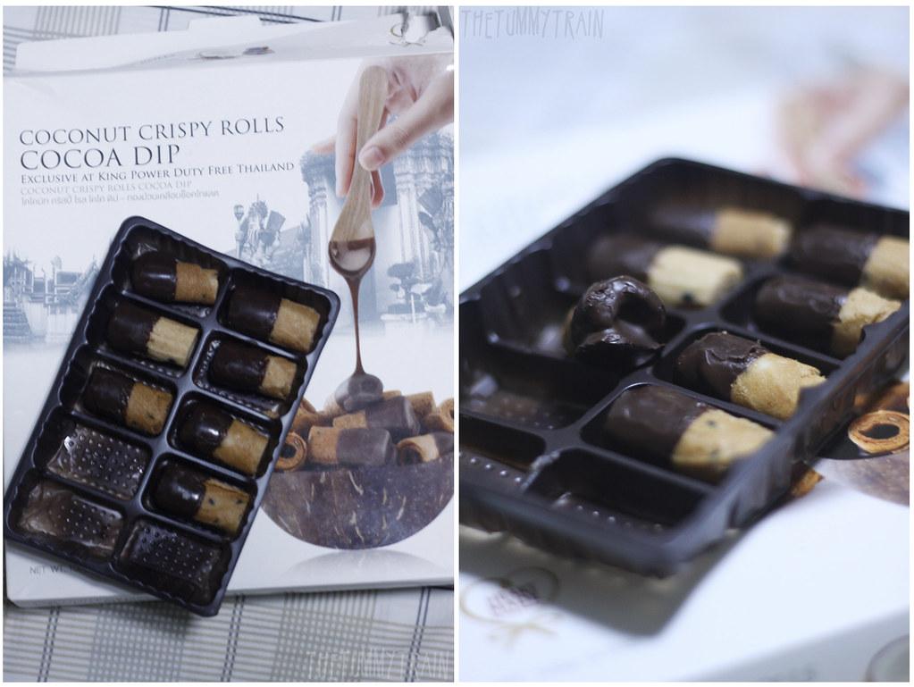Coconut Crispy Rolls