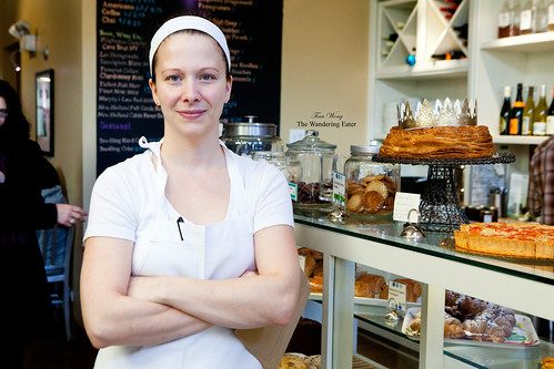 Owner and Head Baker Sandra Holl of Floriole Cafe & Bakery