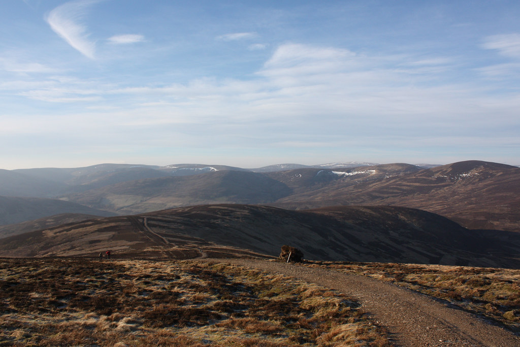 Towards Ben Tirran