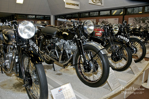 Vincent Line-up - National Motorcycle Museum