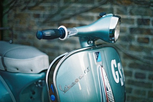 Blue GS by Vespamore !