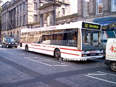 504 YO53 OVB Optare Excel L1180. Waterloo Place EDINBURGH