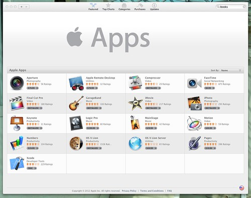 App Store | Apple Apps by stevegarfield