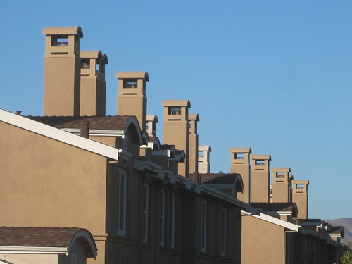 Line of Chimneys