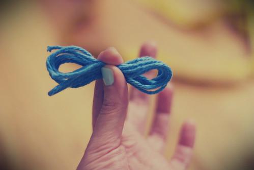 yarn bow 1