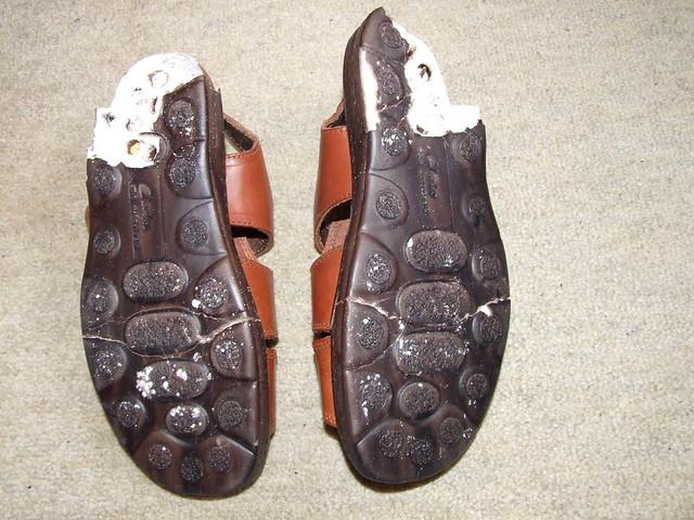 ecco boots soles disintegrate