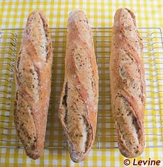 Stokbrood met zaadjes
