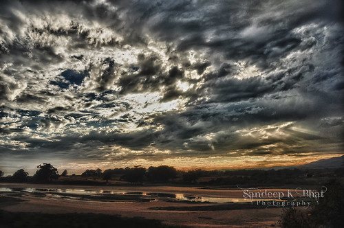 lake storm rain clouds silver dark nikon slough hdr lining breaking goleta devereux d90
