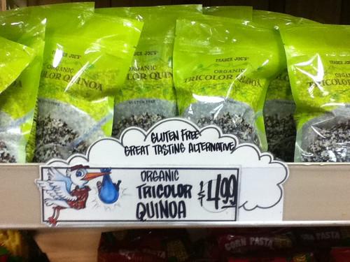 Gluten Free Quinoa, Trader Joe's @ Nevada 01.2012