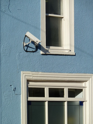 CCTV on Gloucester Road