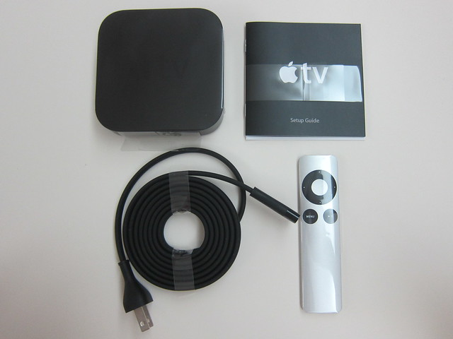 Apple TV - Box Contents