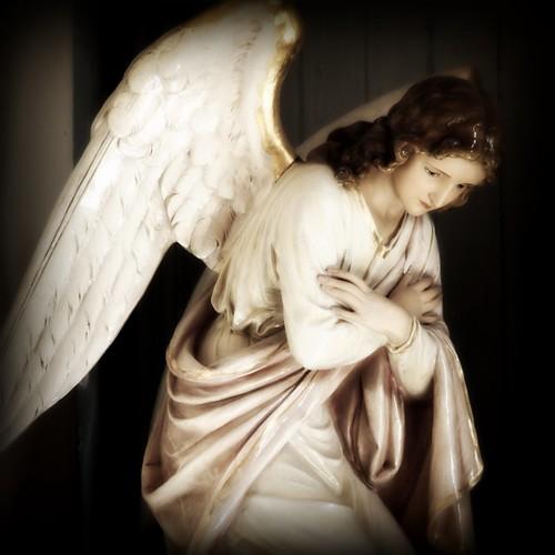 an angel in Albuquerque