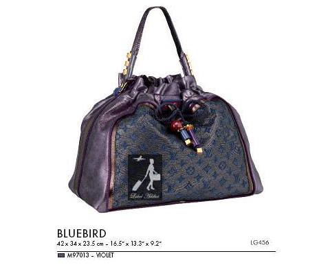 Monogram-Lurex-Bluebird