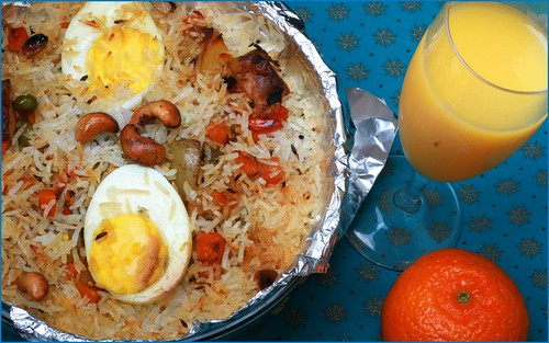 Egg biriyani by {deepapraveen very busy with work..back soon