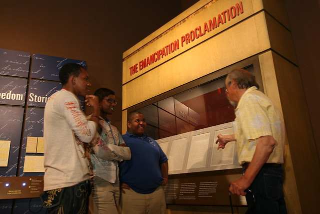 Emancipation Proclamation Display