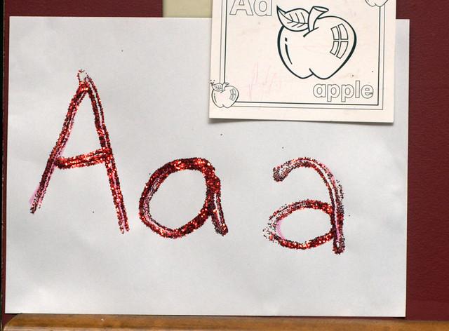 Letter AAA