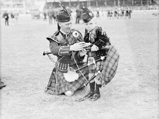 Highland Gathering, Showground, 1 January 1940 by Sam Hood