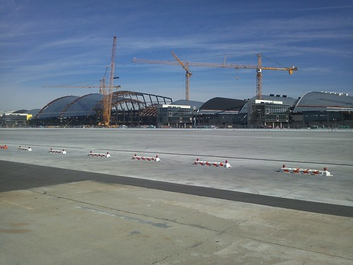 Looking Northeast Toward the New Bradley Terminal Concourse