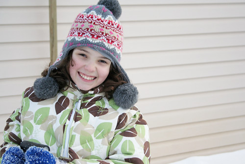 01/26/12 {Kaylie in the snow}