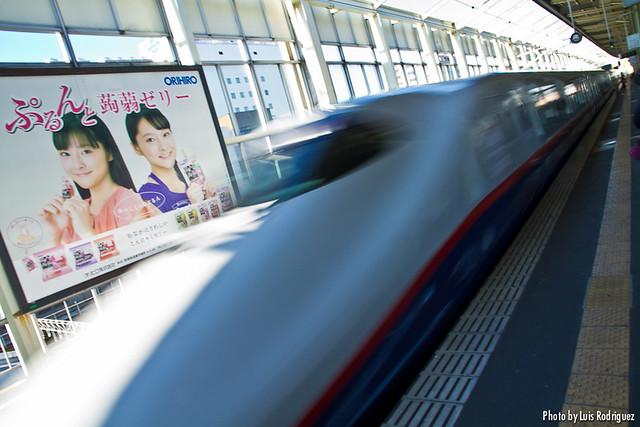 E2 en la línea Nagano de shinkansen