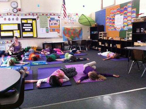 Yoga at Aveson