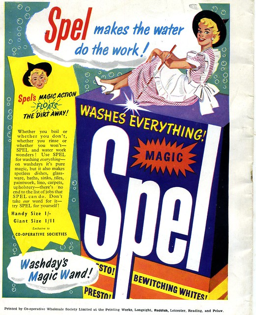 CWS Spel washing powder