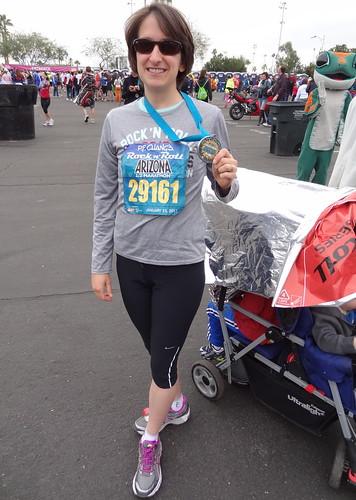 Rebecca, Half Marathon Finisher