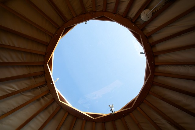 Yurt's Skylight