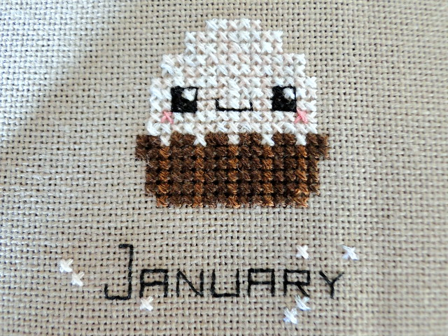 January cross stitch