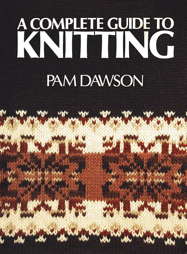 Complete guide to knitting book cover