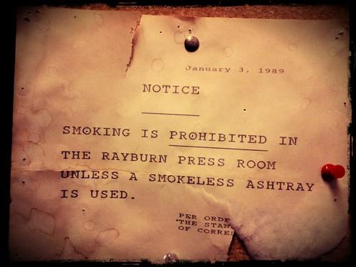 Rayburn 2102 Notice