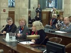 Rev. Craig Hirshfeld testifying pro-ME