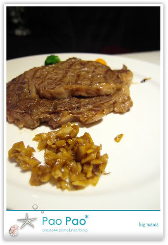 big mama牛排料理廚坊-美國肋眼蒜香牛排