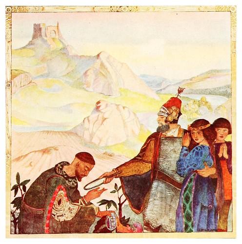 010-Engañando al basilisco-Polish fairy tales 1920-Cecile Walton