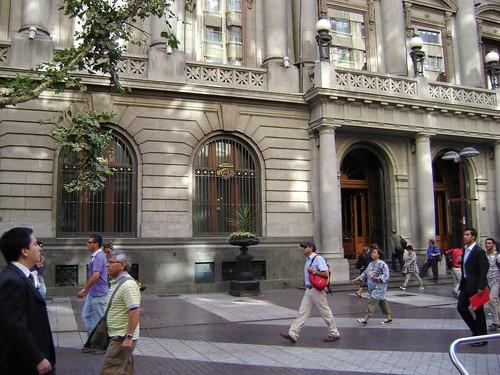 Banco de Chile, Ahumada, Centro/Downtown, Santiago de Chile - www.meEncantaViajar.com by javierdoren