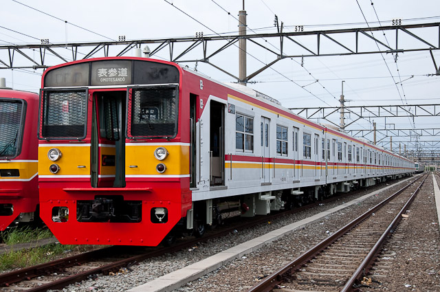 KCJ Seri203 Mato68F - 203系 マト68編成
