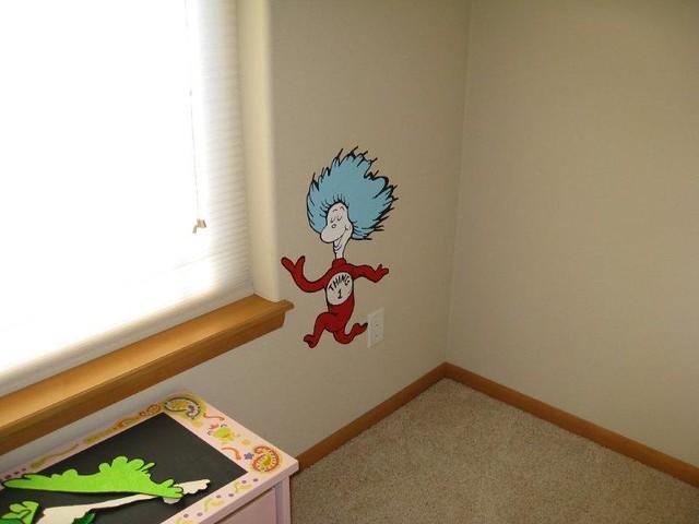 Wallpaper Design Handmade : Dr seuss suess theme wallpaper wall paper art sticker