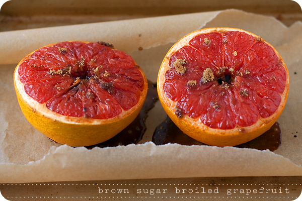 Dolcetto Confections: Brown Sugar Broiled Grapefruit