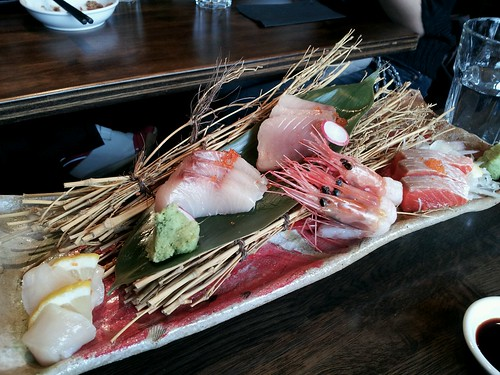 Sashimi at Suika Izakaya Vancouver by Melody Fury Photography. Food, Drink, Restaurant Photographer and Writer in Vancouver BC and Austin TX