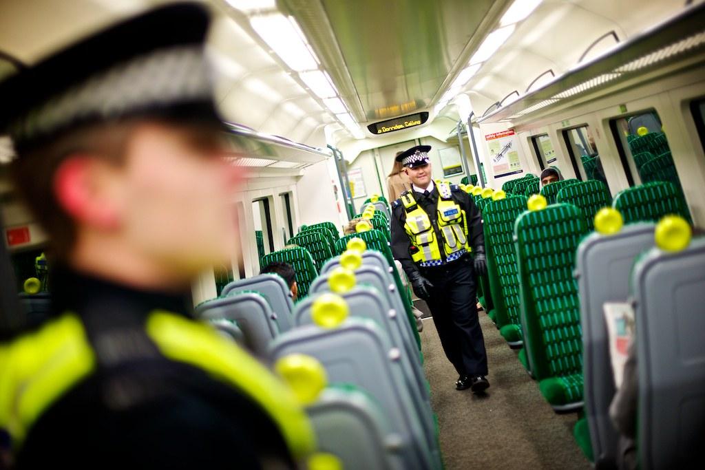 Day 37 - West Midlands Police - Safer Travel officers on patrol