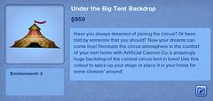 Under the Big Tent Backdrop
