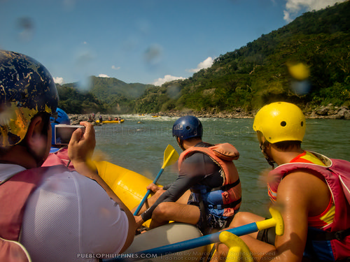 White Water River Rafting - Tabuk - Kalinga, Philippines (104807 - 120123)