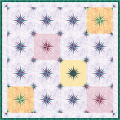 Floating Mariner Quilt Layout 2