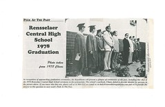 B080_Rensselaer_High_School_1978_Graduation