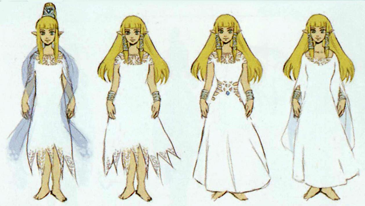 GlitterBerri's Game Translations » Pg  11 Skyward Sword Concept Art