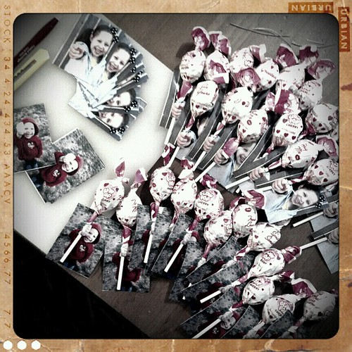 Class Valentines assembly line