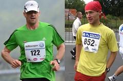 Dva běžci pro jeden maraton si užívají mrazivých tréninků