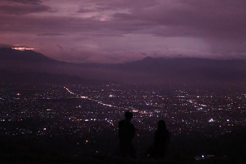 city dark purple caringintilu
