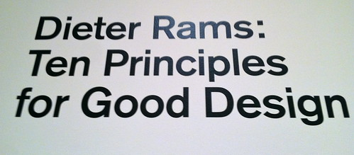 Dieter Rams - Good Design